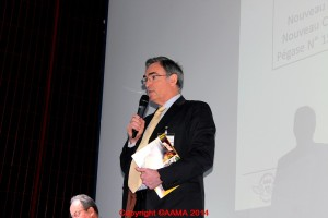 Alain Rolland, Secrétaire Général et rédacteur en chef de Pégase