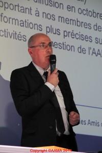 Frédéric Buczko, Trésorier adjoint et qui s'occupe du Facebook de l'AAMA