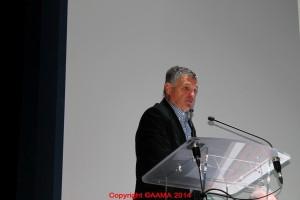 François Vergne, coordinateur des guides et des bénévoles