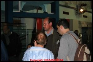 Notre guide Antoine dans la Grande galerie.
