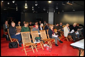 La réunion des guides fin novembre 2013.