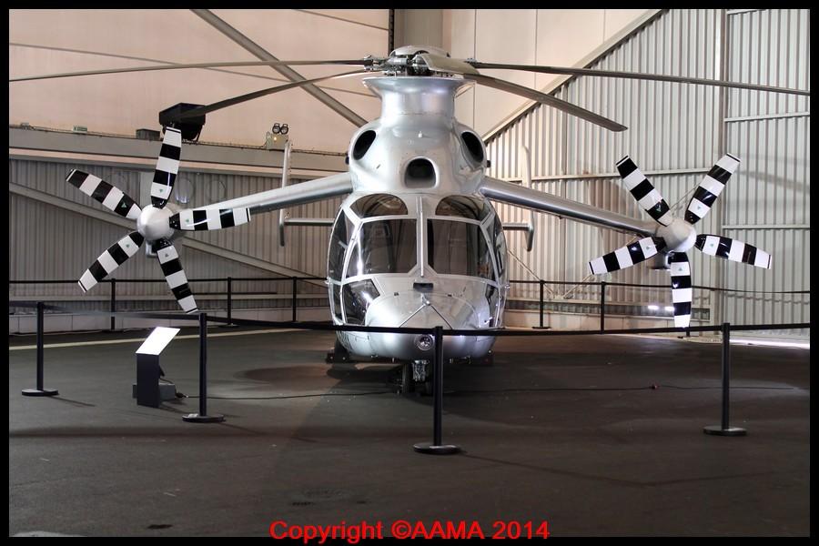 l'appareil célèbre X3 d'Airbus Helicopters en prêt au Musée de l'Air pour deux ans.