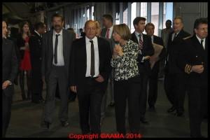 L'arrivée et la découverte du X3 dans le hall Concorde.