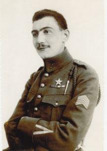 Louis Vallin. L'initiateur de la création de l'AAMA grâce aux relations qu'il avait avec les grands noms de l'aviation