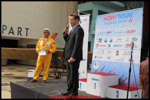 Olivier Bougan, Directeur de communication de la compagnie aérienne HOP ! La FFA est heureuse de l'avoir comme sponsor.
