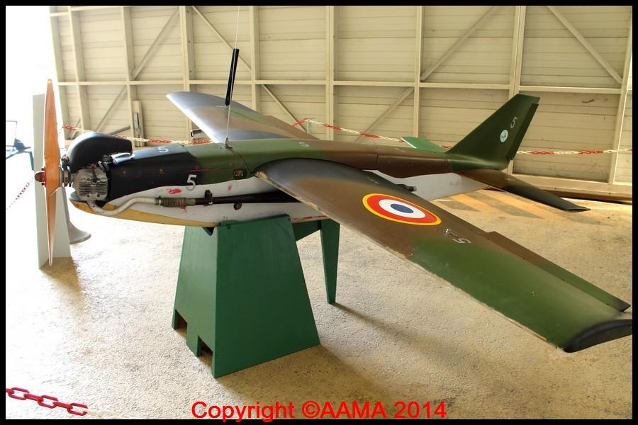 Une nouvelle pièce, un drone, Altec MART Mk II de 1988. On le verrait bien dans le hall de la Cocarde