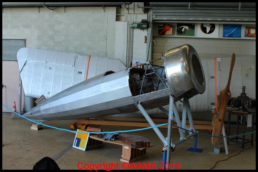 Le Morane AI de Fronval en cours de restauration