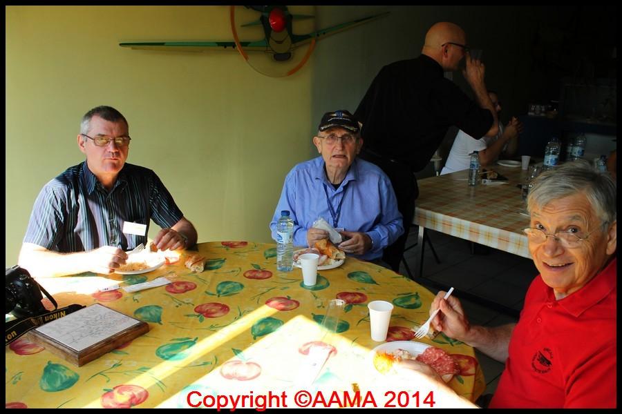 Pause déjeuner de nos membres aux ateliers
