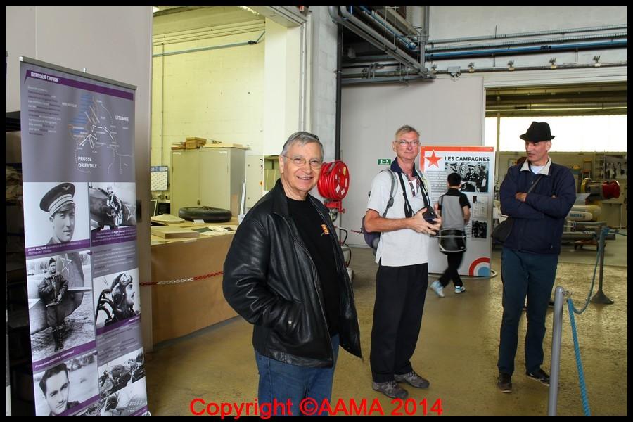 Jean-François, guide de l'AAMA et Président du Mémorial Normandie-Niemen