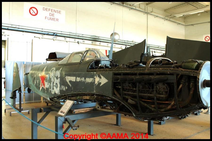 Le YAK 3 du Normandie -Niemen en cours de restauration