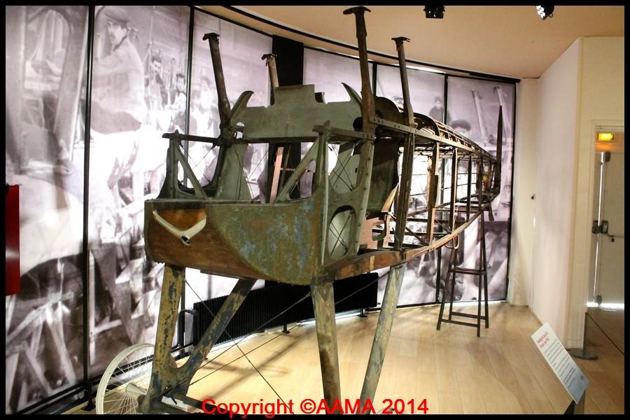 141008 14vernissage expo la grande guerre des aviateurs spad XIII