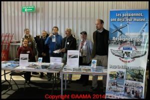 Les volontaires de l'AAMA du samedi sont prêts