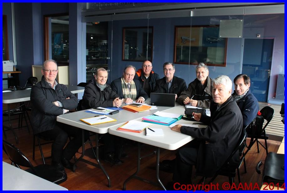 150117 réunion bureau AAMA