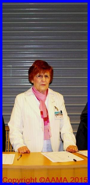 Marie-Louise Duchesne toujours prête à aider l'AAMA