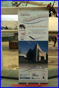 Présentation du lycée Aristide Briand, voisin du Musée de l'Air