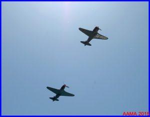 Le passé : le Yak 11 suivi du Yak 3