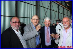 Quelques membres de l'AAMA autour de notre Vice-président