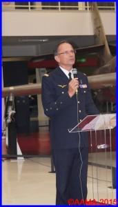 Le général Antoine Creux, inspecteur général des armées (air),
