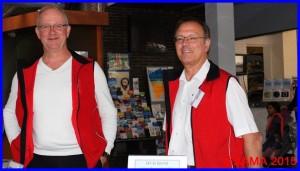 Deux de nos bénévoles très actifs, Pierre et Philippe
