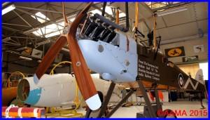 La reproduction du Be2f de Memorial Flight