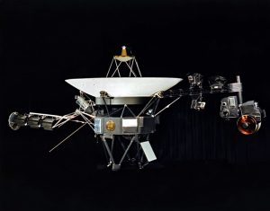 Voyager 1 Maquette, 1977, NASA