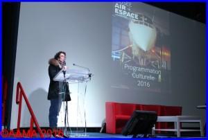 Catherine Le Berre, directrice du marketing du Musée de l'Air