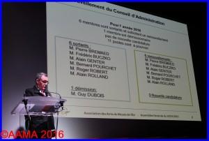 Alain Rolland en tant que secrétaire général
