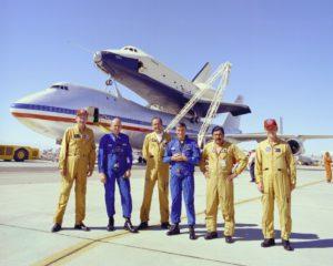 équipages d'essai, Boeing 747 SCA, Enterprise, OV-101