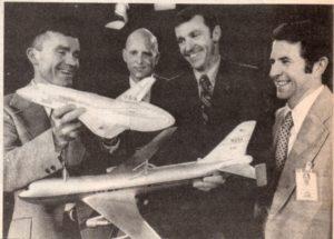 Pilote de Enterprise, Fred Haise, Charles Fullerton, Joseph Engle, Richard Truly