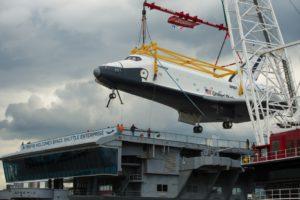 Enterprise, OV-101, Intrepid, Porte-avion, New York, 2012
