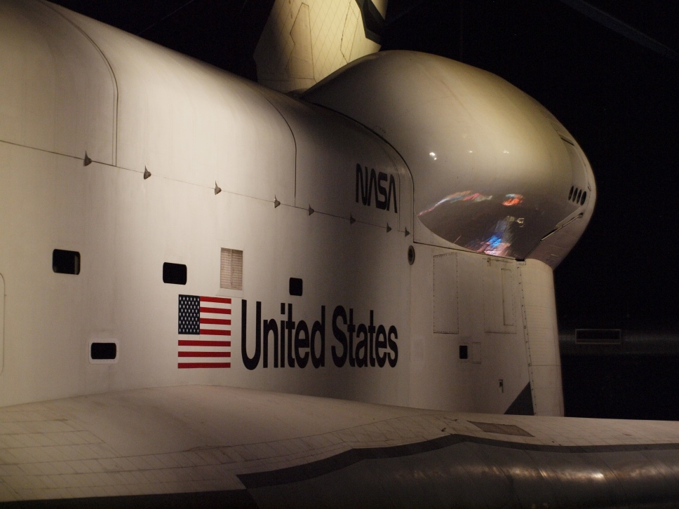 Enterprise, OV-101, Intrepid, Porte-avion, Museum, New York, Manhattan, juillet 2016