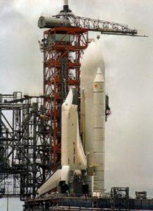 Enterprise, OV-101, Pas de tir, LC-39A, KSC, rollout