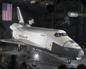 Enteprise, OV-101, aéroport, Dulles, NASM