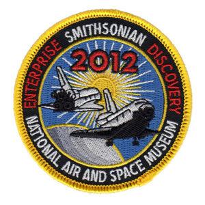 patchs, Enterprise, 0V-101, Discovery,OV-103, 2012