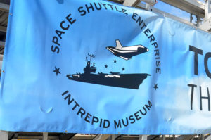 patchs, drapeau, Enterprise, OV-101, Intrepid, Porte-avion, New York, Manhattan
