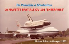Enterprise, Le Bourget, juin1983