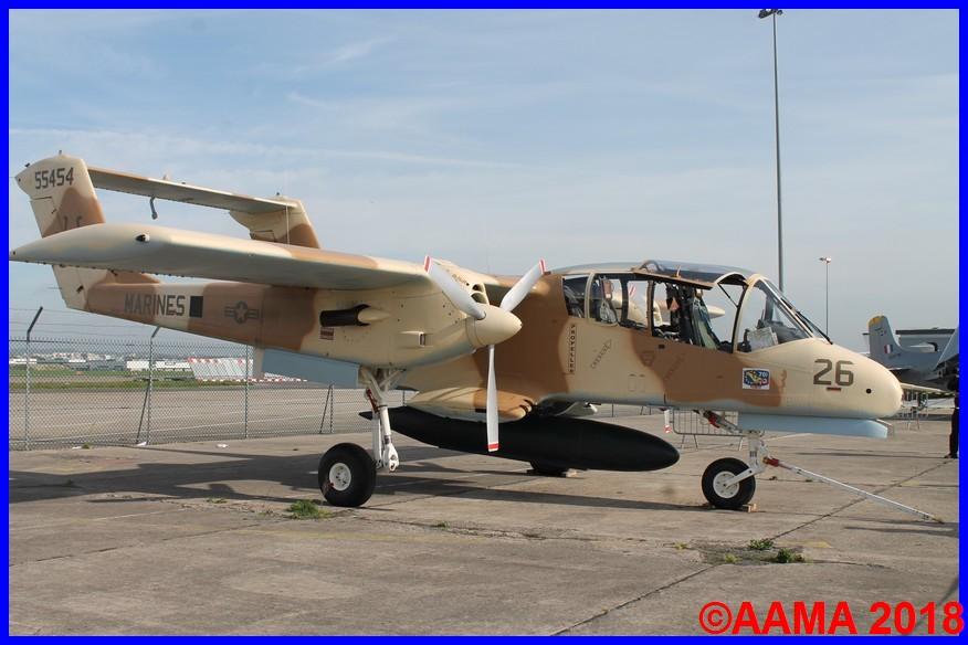Le Bronco du musée Européen de l'aviation de Montélimar