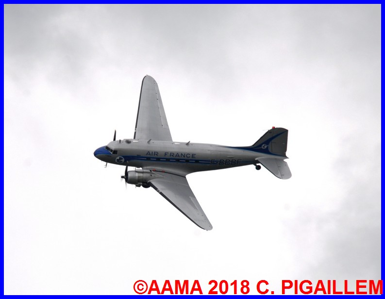 Douglas DC-3 (F-AZTE) Air France