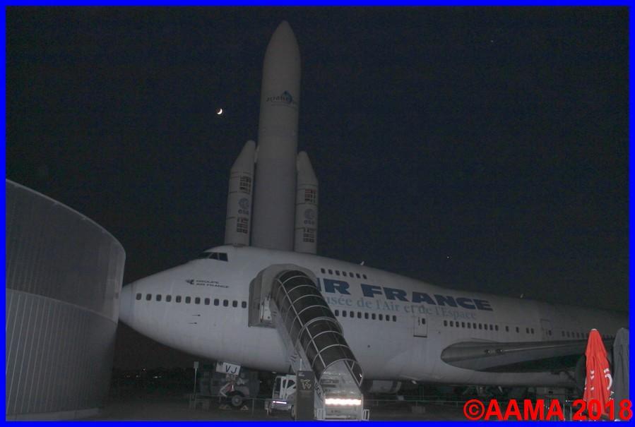 nuit des musées au musée de l'air