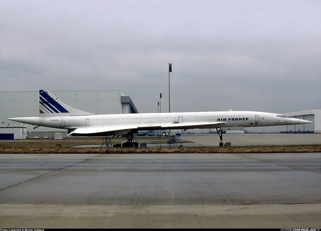 Concorde, FD, F-BVFD SN211, CDG, 1985-03-21